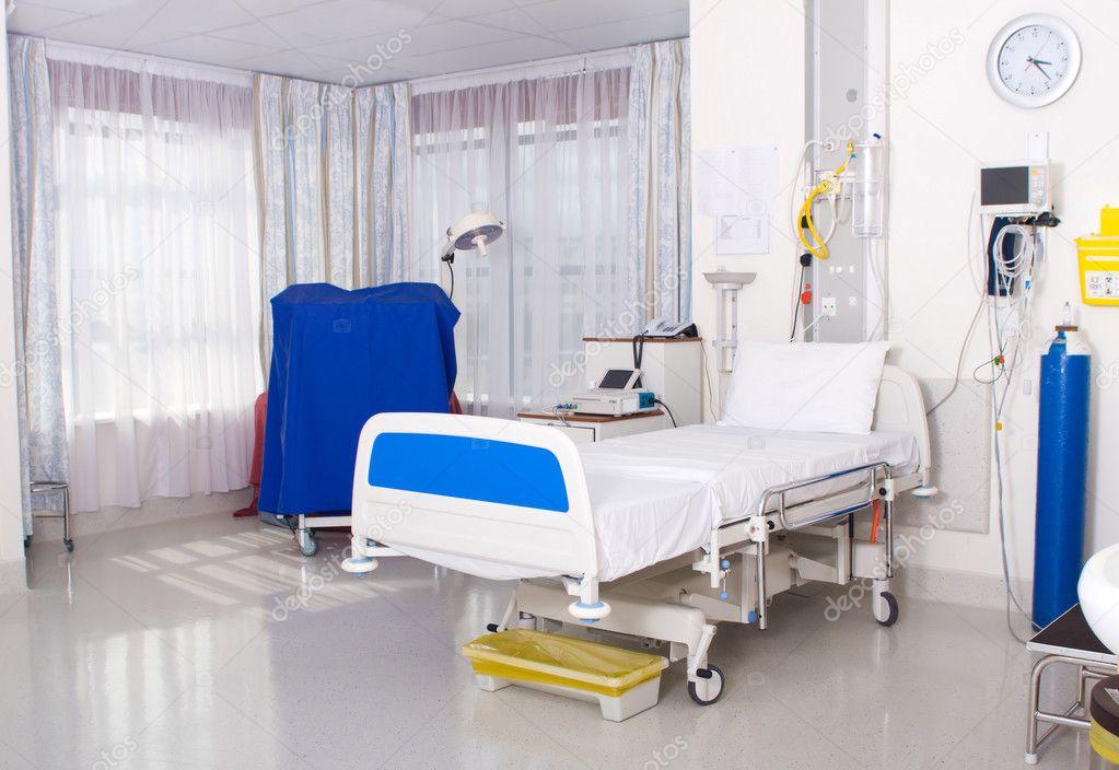 Modern hospital ward