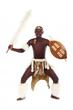 Native african tribesman
