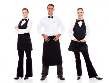 waiter and waitress