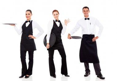 group of restaurant staff
