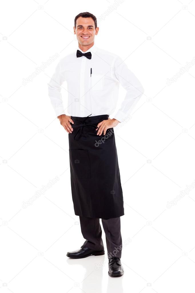 7168e7561fa 화이트에 행복 식당 웨이터 전장 초상화 — 님의 사진 michaeljung