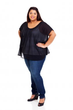 lovely plus size model