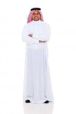 arabian man full length portrait