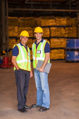 shipping and warehouse workers