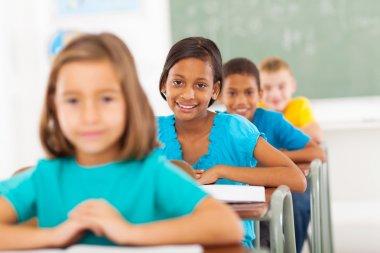 primary school students in classroom