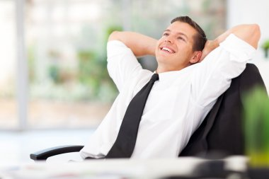 businessman daydreaming
