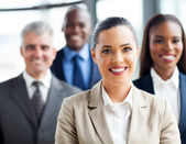 Confident group business people