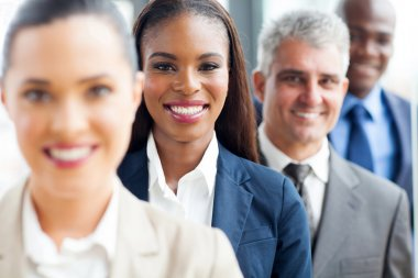 group of multiracial business people