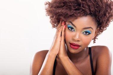 black female model