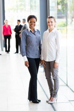 Multiracial businesswomen