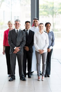 Business team inside office