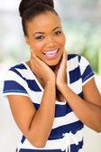 Fotografie africká americká žena smíchy