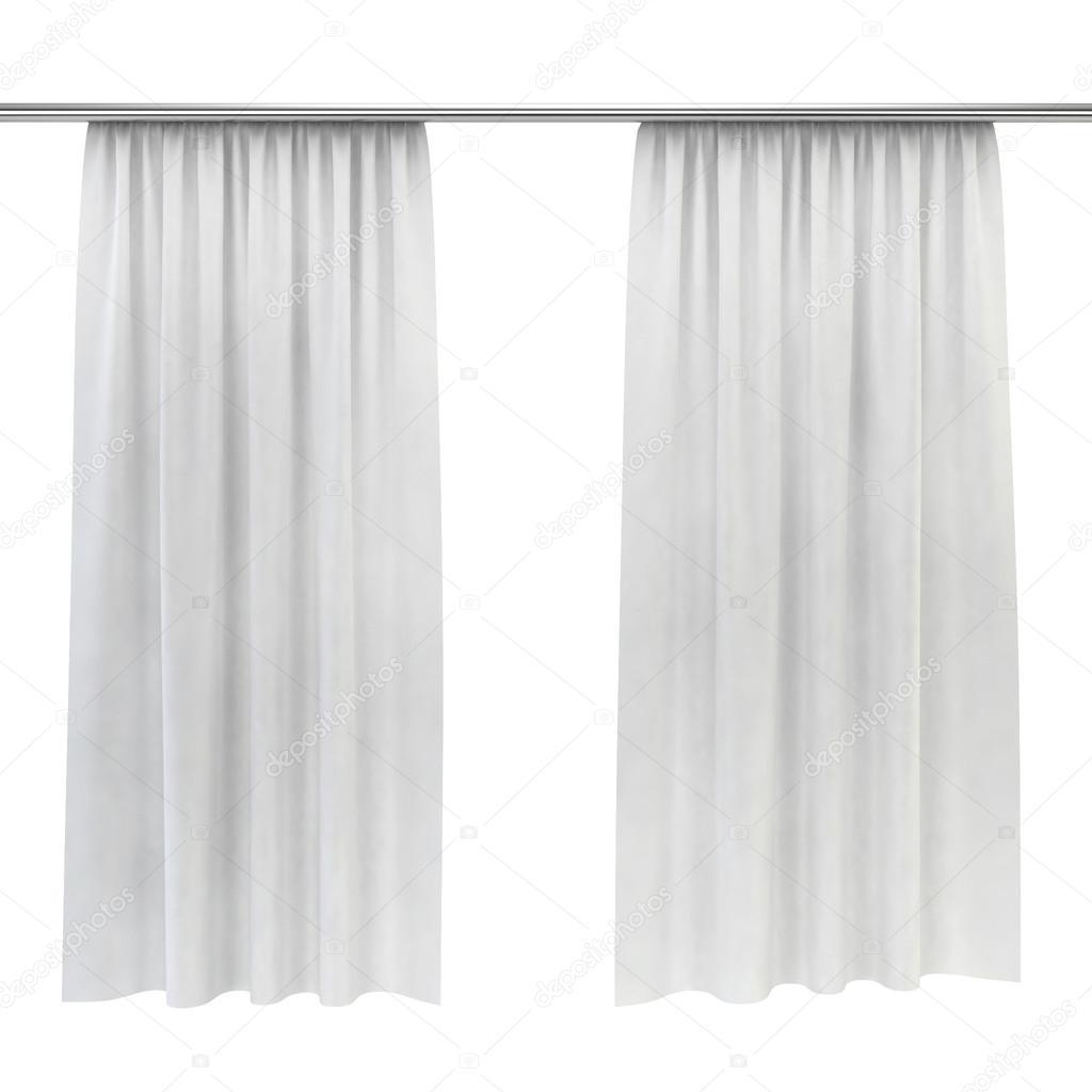 White curtains — Stock Photo © montego #46935899