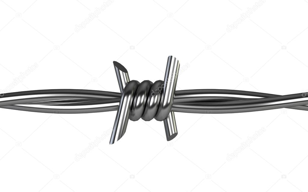 Barbed wire — Stock Photo © montego #47995127