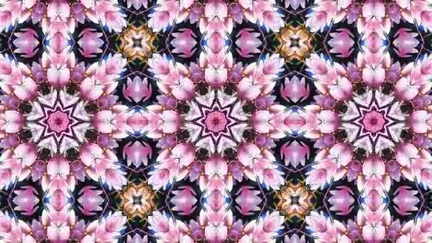 Virágos absztrakt mozgó háttér