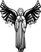 Anděl s křídly