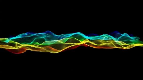 abstraktní vlny pozadí