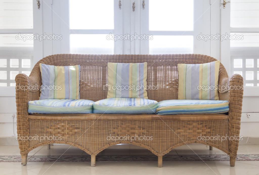 Bambus-Wohnzimmer — Stockfoto © GNBDesigns #30352663