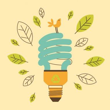 Ecological saving lamp