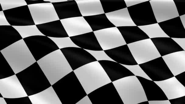 Zielflagge im Wind