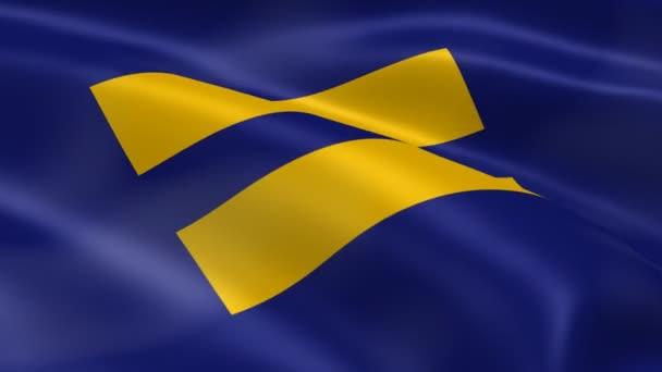 lidská práva vlajka ve větru