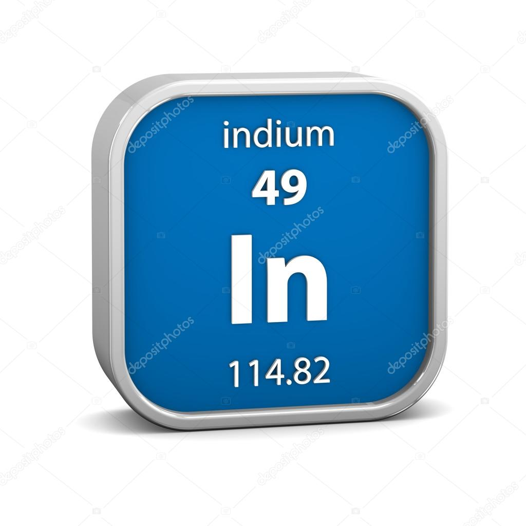 Indium material sign stock photo nmcandre 24106885 indium material sign stock photo biocorpaavc Images