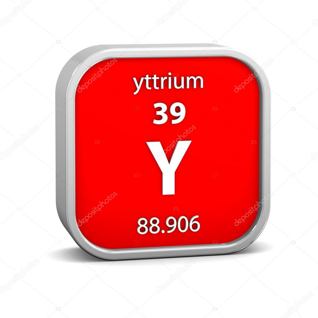 Yttrium material sign stock photo nmcandre 24977045 yttrium material on the periodic table part of a series photo by nmcandre urtaz Images