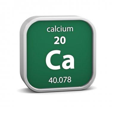 Calcium material sign