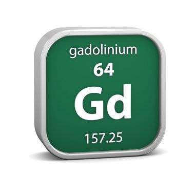 Gadolinium material sign