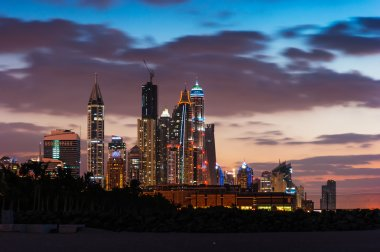 Dubai Marina skyline