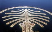 Fotografie vývoj ostrov palm Jumeirah v Dubaji