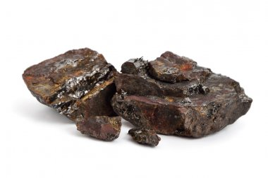 Fossil coal isolated
