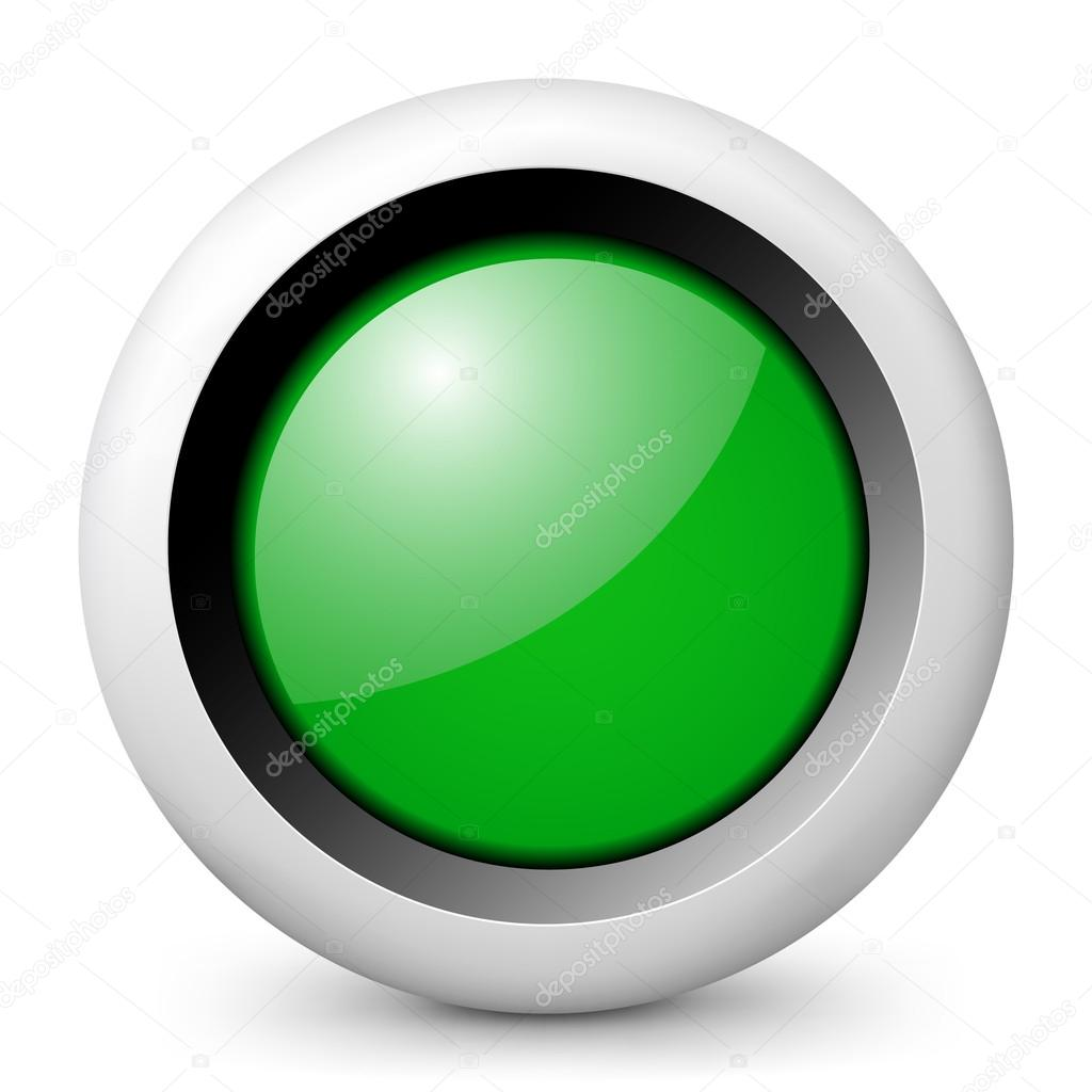 icon depicting a green traffic light — Stock Vector © MyVector #21989189 for Traffic Light Green Icon  535wja