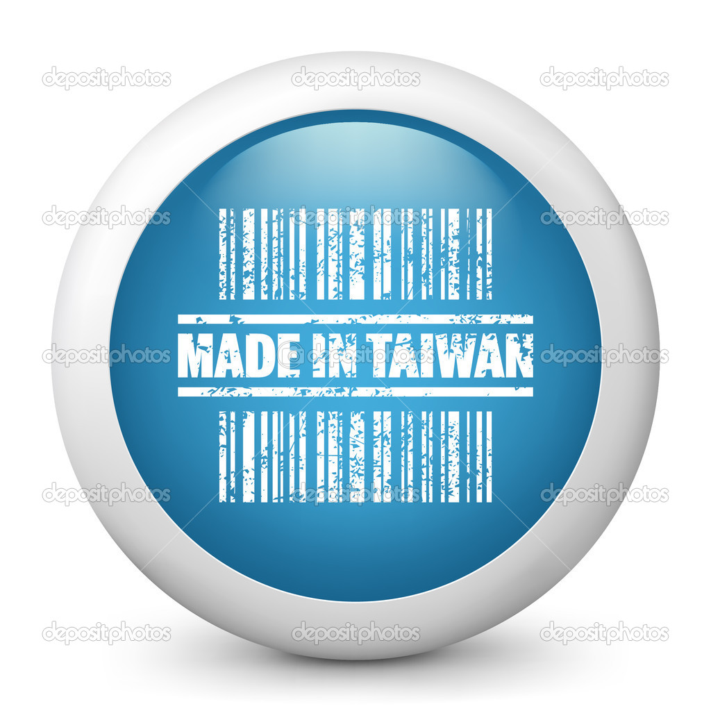 icon marked made in taiwan stock vector myvector 21989823. Black Bedroom Furniture Sets. Home Design Ideas