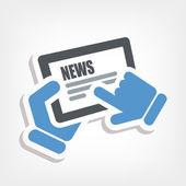 News touchscreen
