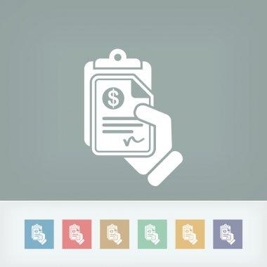 Money document icon