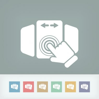 Slide screen icon
