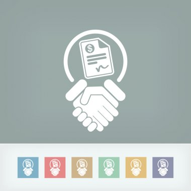 Conciliation payment icon