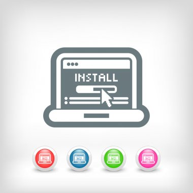 Pc install icon
