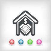 bankovní dohody ikonu