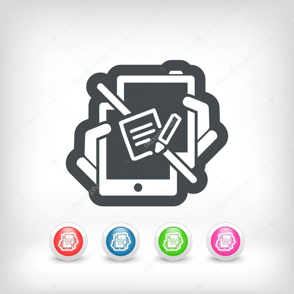 e-Mail senden-Symbol — Stockvektor © MyVector #46062579