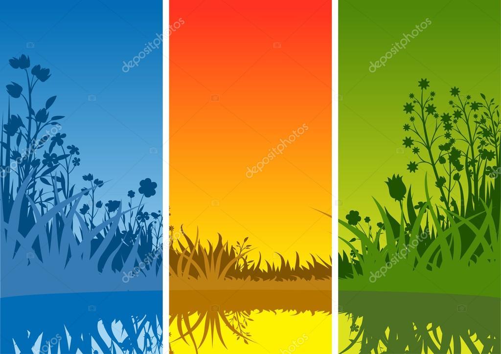 Small Lake and Grass