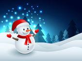 Photo vector snowman