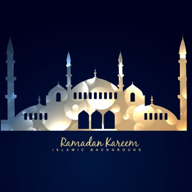 shiny mosque illustration