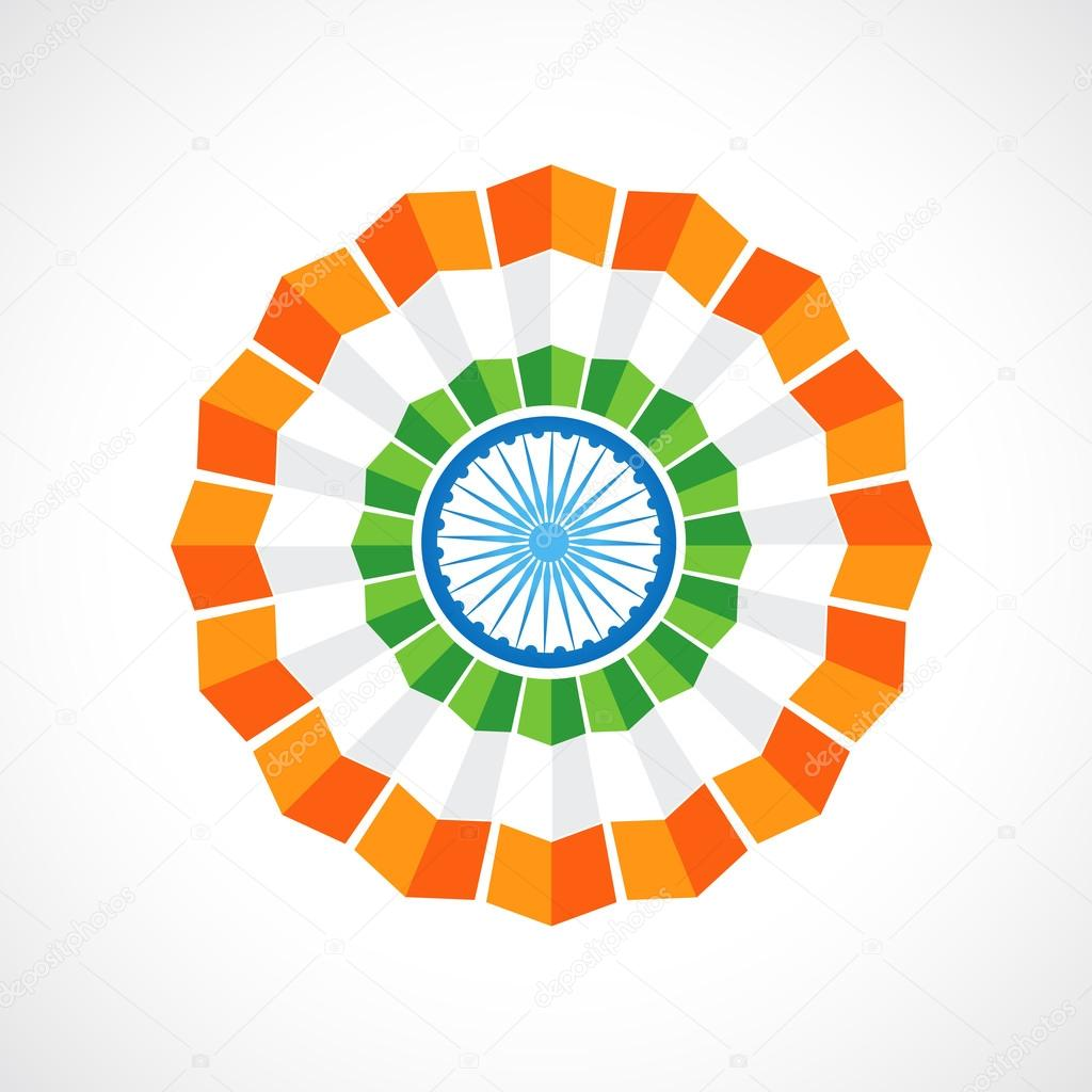 indian flag badge