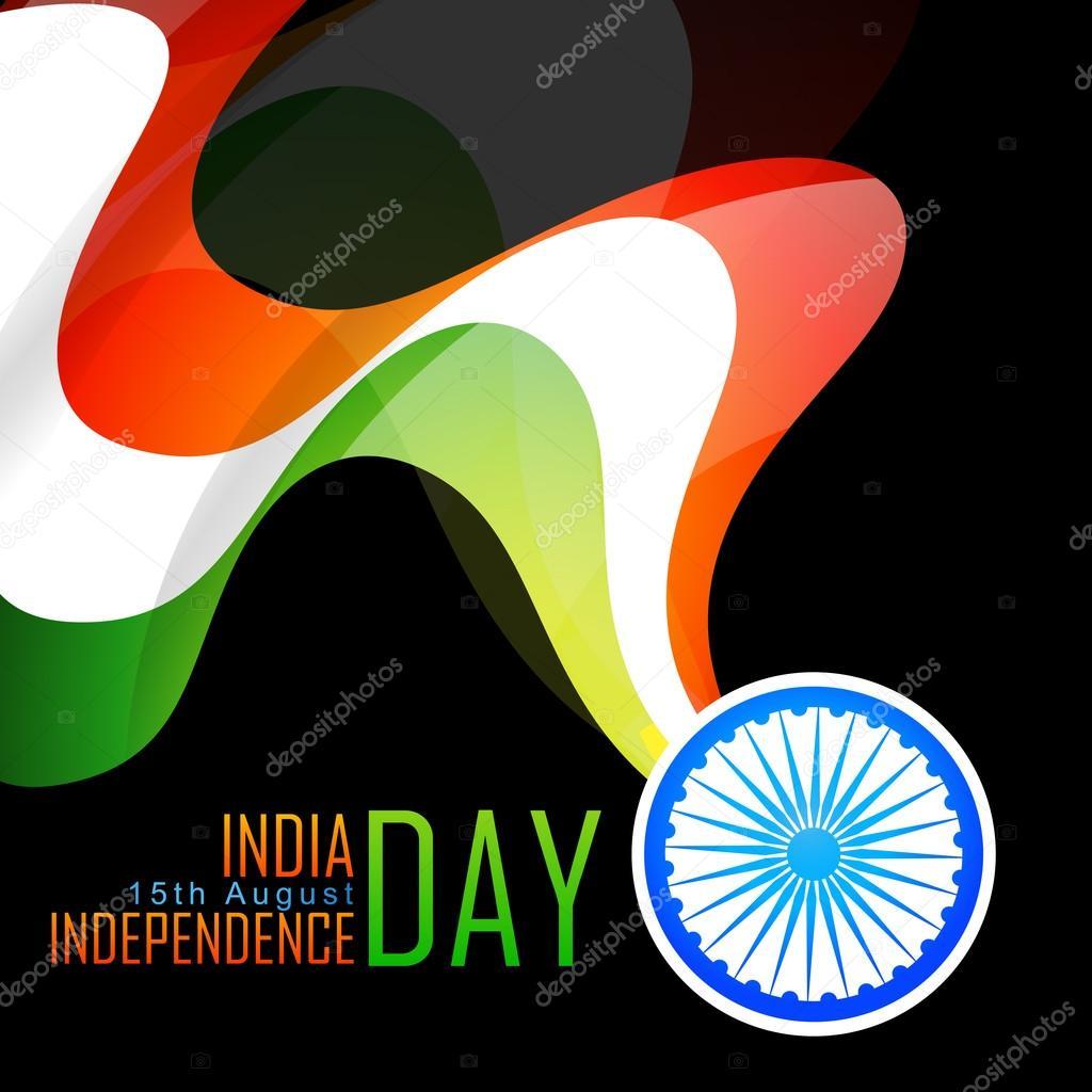 stylish indian flag background