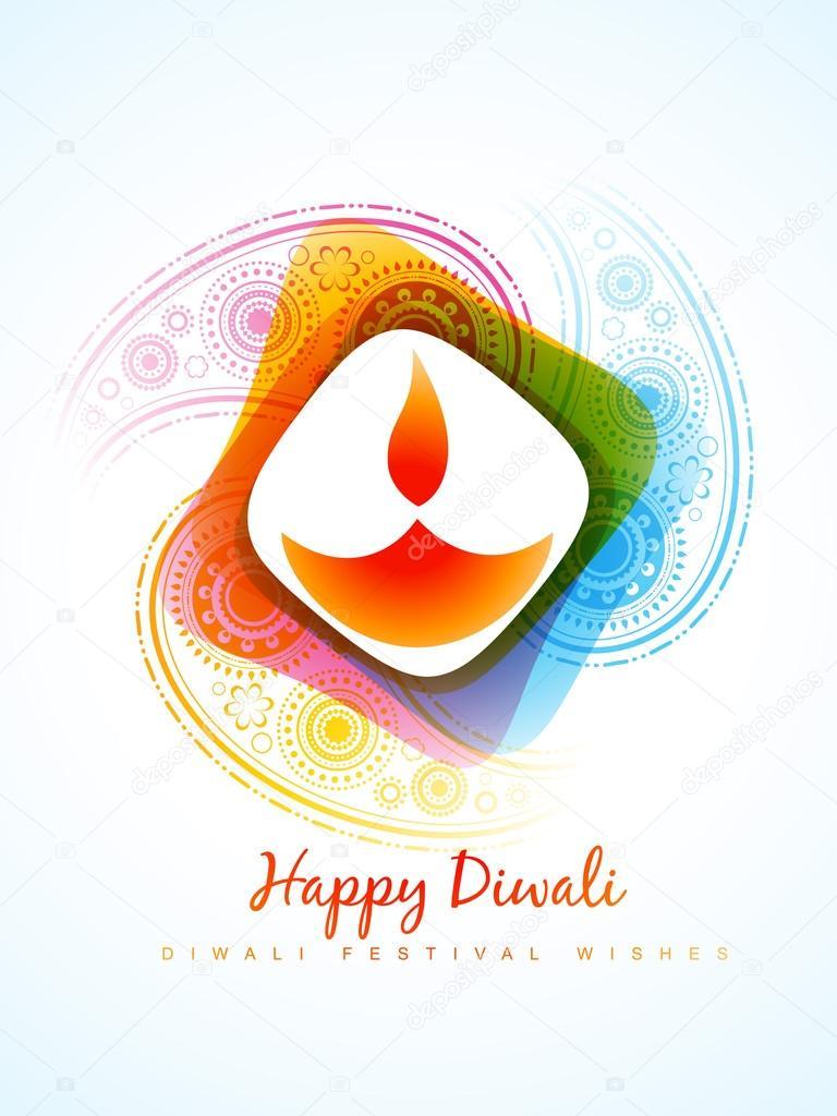 colorful diwali diya — Stock Vector © pinnacleanimate #33954171 for diwali diya wallpaper vector  110zmd