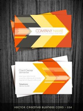 arrow business card