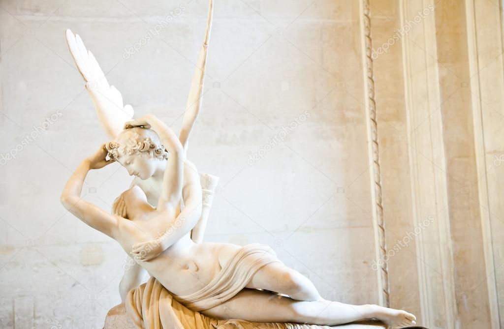 Psique revivido por beso de Cupido — Foto editorial de stock