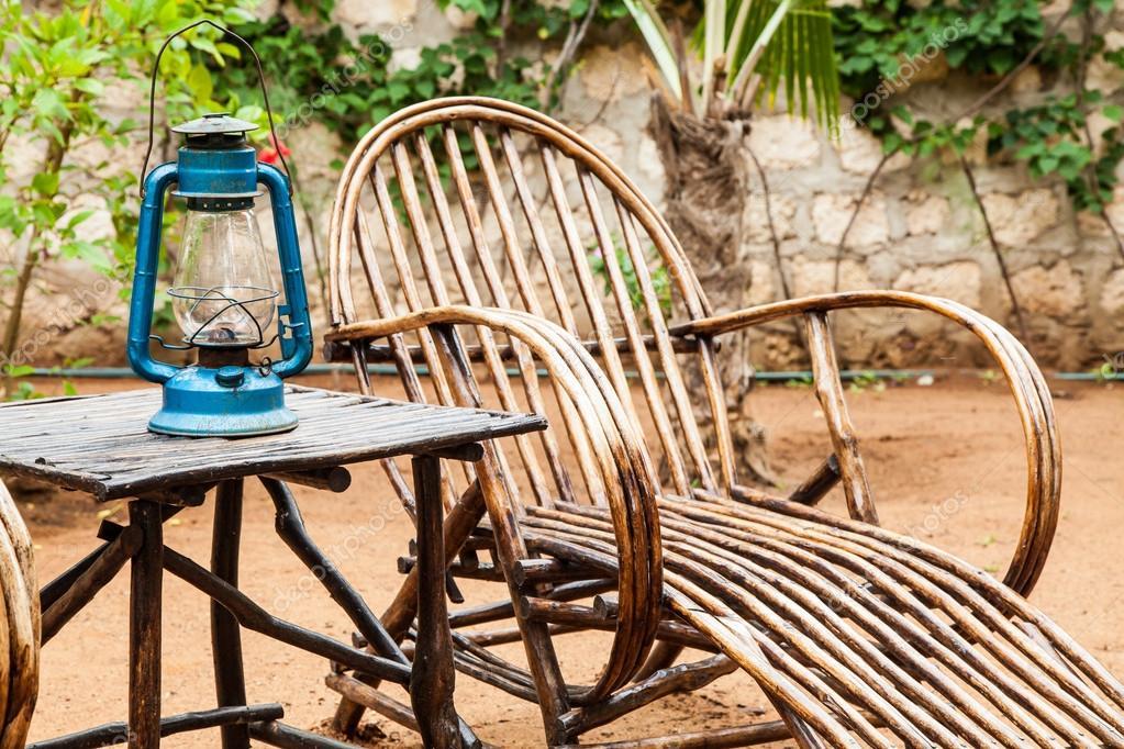 muebles de jardín — Fotos de Stock © perseomedusa #14233923